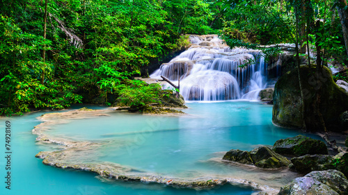 Waterfall at Erawan National Park