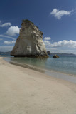 Cathedral Cove beach. New Zealand