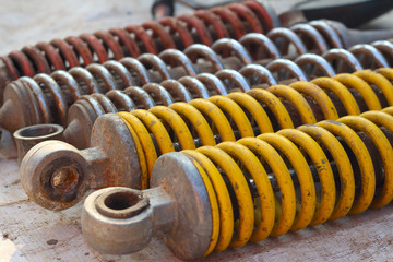 shock absorber car background texture
