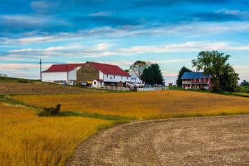 A farm in rural Lancaster County, Pennsylvania.