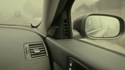 Car rear-view mirror