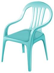 A plastic chair furniture