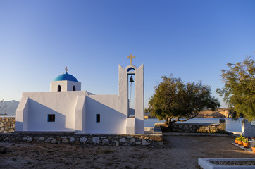 Church in Ano Koufonisi island, Cyclades, Greece