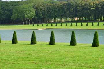 France, the picturesque park of Marly le Roi