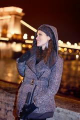 Budapest travel woman