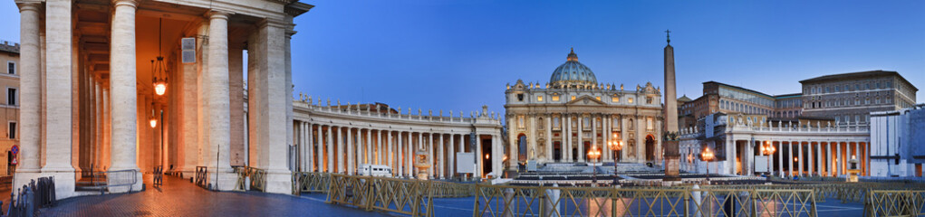 Vatican Square sunrise