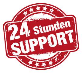 24 Stunden Support