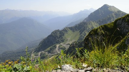 Caucasus Mountains Rosa Peak