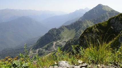 Caucasus Mountains Rosa Peak