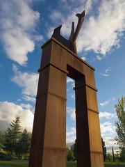 Puerta de la Paz en Pinto. Madrid