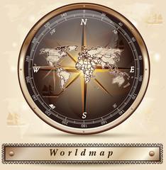 Karte von der Welt