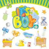Fototapety It's a boy set