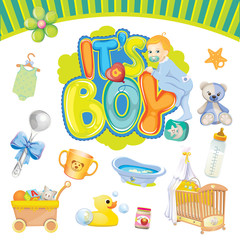 It's a boy set