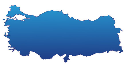 Türkei in Blau