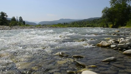 River Laba in the Caucasus