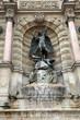 Paris, Fountain Saint-Michel.