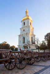 Saint Sophia Cathedral in Kiev is an outstanding architectural m