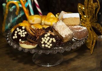 Dulces y pastas navideñas