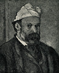 Paul Cézanne, french painter (self-portrait)