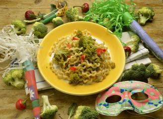 Fusilli lunghi Cucina italiana อาหารอิตาลี เอ็กซ์โป 2015 พาสตา