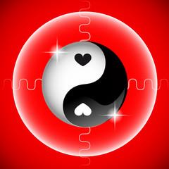 yin yang herz