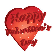 happy valentine heart