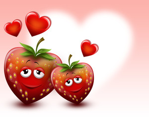 Strawberrys in love