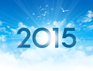 2015 new day greeting card