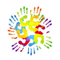impronte mani, impronte, mani, impronta
