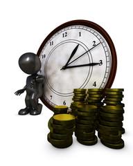 3D Morph Man time is money