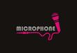 microphone logo vector - 74952312