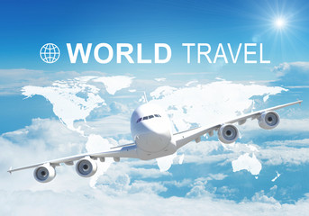 World Travel header