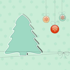 Greeting Christmas background