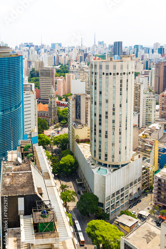 The Sao Paulo city in South America, Brazil - 74952972