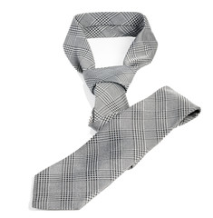 Neck tie isolated on the white