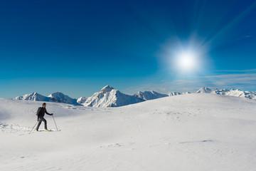 Climb ski alpinism