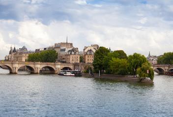 Cite Island and Pont Neuf, Paris