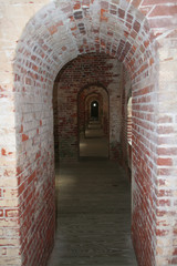 Arches at Fort Macon