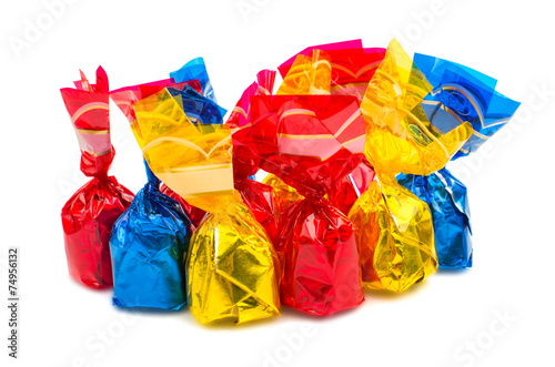 Wrapped candy or sweet - 74956132