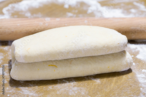 Papiers peints Biscuit Raw Puff Pastry