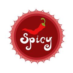 Badge Spicy