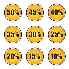 bollini percentuale