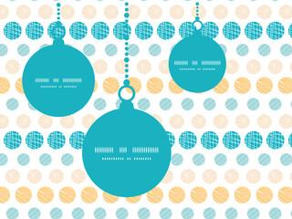 Vector texture circles stripes abstract Christmas ornaments