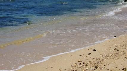 Strand mit Wellen vid 09