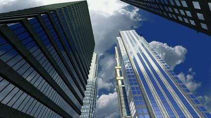 Skyscrapers in a major city