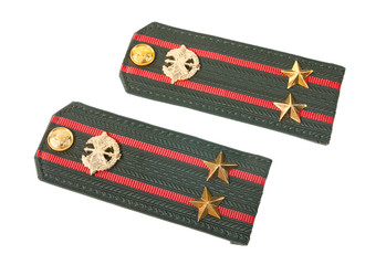 Shoulder straps lieutenant colonel of russian army
