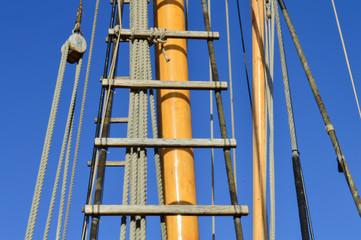 Liverpool Albert Dock, sailboat, mast
