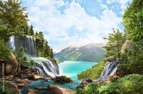 mountain river - 74960567