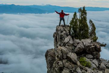 kayalıklarda muhteşem manzara
