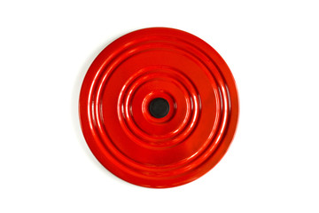 Old fashioned twisting disc for a slender waist